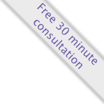 Free 30 minute consultation ribbon